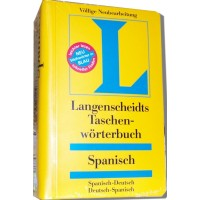 Langenscheidt - Taschenworterbuch Spanisch (Spanish) to and from German Dictionary