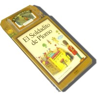 El Soldadito de Plomo / The Steadfast Tin Soldier (Book and Audio Cassette)