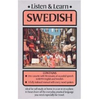 Listen and Learn Swedish (Audio Cassette and Book)