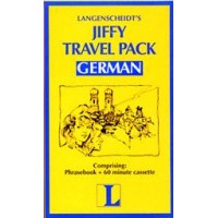 Langenscheidt Jiffy Travel Pack German (Book and Audio Cassette)