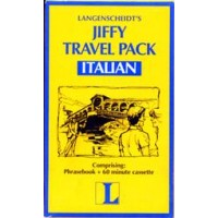 Langenscheidt Jiffy Travel Pack Italian (Book and Audio Cassette)