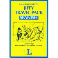 Langenscheidt Jiffy Travel Pack Spanish (Book and Audio cassette)