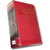 A Trilingual Romanized Dictionary-English/Urdu/Hindi (Hardcover)
