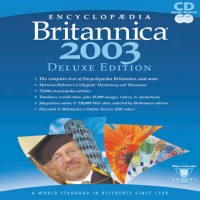 Encyclopedia Britannica 2003 Deluxe Edition (2 CD's Set)