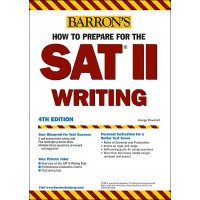 SAT II Writing 4th Edition (Paperback)