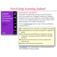 English Grammar for Students of Italian (PB)