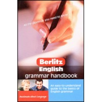 Berlitz: English Grammar Handbook (PB)