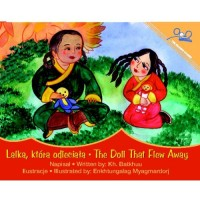 The Doll That Flew Away / Lalka, Ktora Odleciata (Paperback) - Polish
