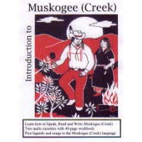VIP - Introduction to Muskogee (Creek) Language (Audio CD with Workbook)