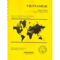 Intensive - FSI Vietnamese Level 2 (Book + Audio CDs)