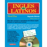 Barrons - Ingles Para Latinos, Level 2 - 2nd Edition (Paperback with 3 Audio CDs)