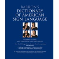 Barron's Dictionary of American Sign Langauge - Book
