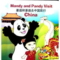 Mandy And Pandy Visit China (Book And CD Set)