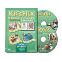 Kicsflix Classic Tales (DVD & Audio CD) Volume 3
