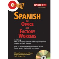 Spanish for Office and Factory Workers with Audio CD Package