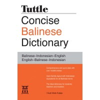Tuttle - Concise Balinese Dictionary