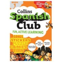 Collins Spanish Club: Fun, Active Learning (Paperback with Audio CD)