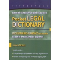Hippocrene - Spanish-English / English-Spanish Pocket Legal Dictionary