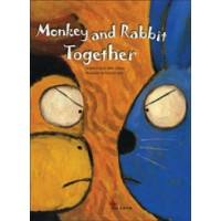 Monkey and Rabbit Together in English and Chinese (traditional) Hardback