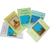 Vanou 5-Book Pack of bilingual reading books in Haitian-Creole & English