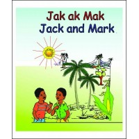 Jack and Mark / Jak ak Mak in English & Haitian-Creole by Nirvah Jean-Jacques