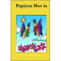 Papiyon Mov la (The Purple Butterfly) Creole only by Malisa Makso