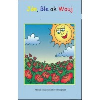 Jòn, ble ak wouj (Yellow, Blue and Red) in Haitian-Creole only by Malisa Makso
