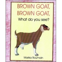 Brown Goat/ Kabrit Mawon in English & Haitian-Croatian by Marika Roumain
