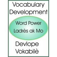 Vocabulary Development/ Devlope Vokabilè in English & Haitian-Creole by Maude Heurtelou