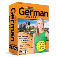Instant Immersion German Levels 1-2-3 for Mac & Windows