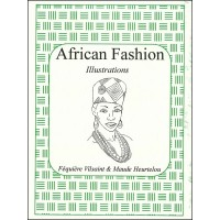 African Fashion Illustrations - Line art illustrations by F. Vilsaint