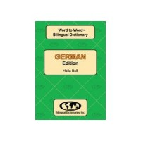 Word to Word German / English Dictionary (Paperback)