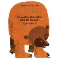 Brown Bear, What Do You See? in Portuguese & English