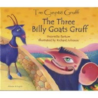 The Three Billy Goats Gruff in Albanian & English (PB)