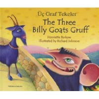 The Three Billy Goats Gruff in Turkish & English (PB)