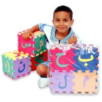Arabic Alphabet Puzzle Mats (Medium size)