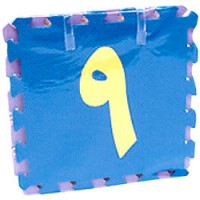 Arabic Numbers Puzzle Mats (Large size)