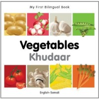 My First Bilingual Book on Vegetables in Somali and English