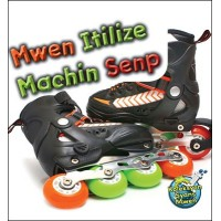 I Use Simple Machines / Mwen Itilize Machin Senp by Buffy Silverman