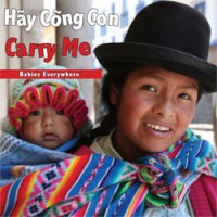 CARRY ME Board Book in Vietnamese & English