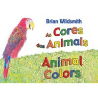 ANIMAL COLORS board book in Portuguese & English