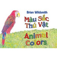 ANIMAL COLORS board book in Vietnamese & English