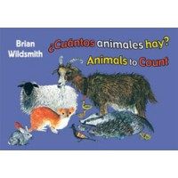 BRIAN WILDSMITH'S ANIMALS TO COUNT in Spanish & English board book