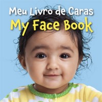 MY FACE BOOK in Portuguese & English board book