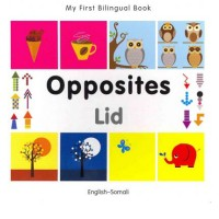 Bilingual Book - Opposites in Somali & English [HB]