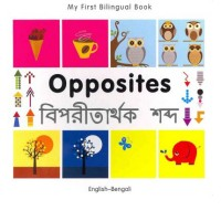 Bilingual Book - Opposites in Bengali & English [HB]