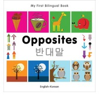 Bilingual Book - Opposites in Korean & English [HB]