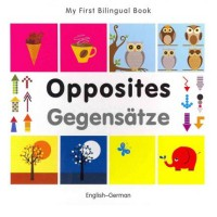Bilingual Book - Opposites in German & English [HB]