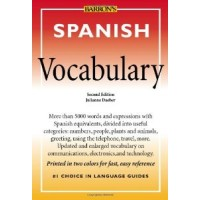 Barrons - Spanish Vocabulary PB