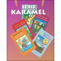 Karamel Series in French & Haitian Creole set of 20 books